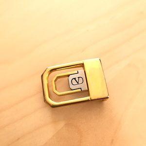 VALENTINO   Gold Belt Buckle